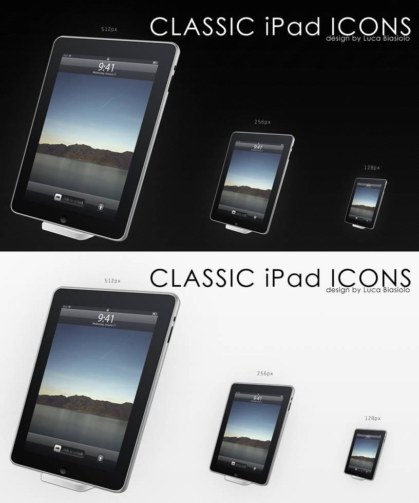 classic ipad icon