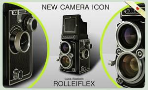 Rolleiflex Camera Icon by bisiobisio