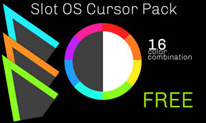 SlotOS Cursor Pack [WORK IN PROGRESS!] by FurryDelta