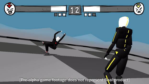 Previs Dummies Arcade Fighter (fake game footage)