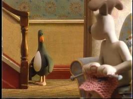 Gromit Sees Evil Penguin by knuFaD-zzaJ