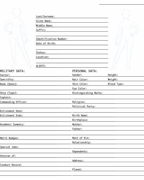 Rf Character Info Sheets By Motleydreams On Deviantart
