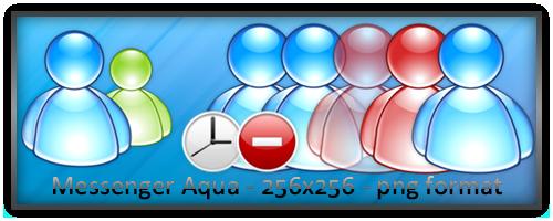 MSN Messenger aqua by wilsoninc