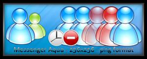 MSN Messenger aqua