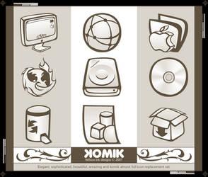 KOMIK Iconset ICNS by wilsoninc