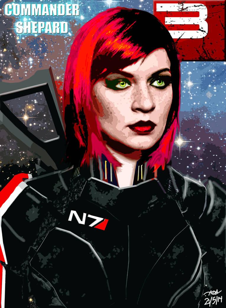 Commander Shepard by BEAMER3K