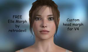 Elle FREE Custom face morph