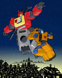 Colours on Cassey Coller's Blaster and Goldbug
