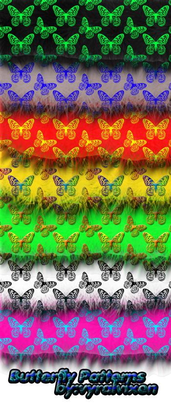 Butterfly Patterns by VyralVixen