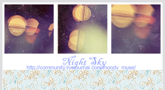 Night Sky by chaoticfae