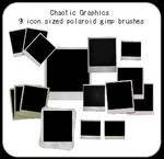 Polaroid Gimp Brushes