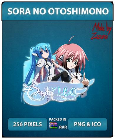 Sora no Otoshimono - Anime Icon by Zazuma