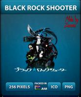 Black Rock Shooter (Official logo) - Anime Icon by Zazuma