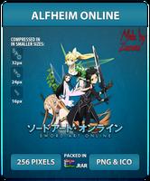 Sword Art Online (ALFHeim Online) - Anime Icon by Zazuma