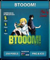 BTOOOM! - Anime Icon by Zazuma