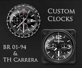Custom Clocks_gadgets by relhom