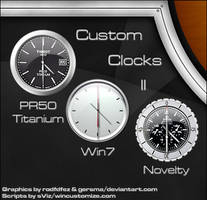 Custom Clocks II_gadgets
