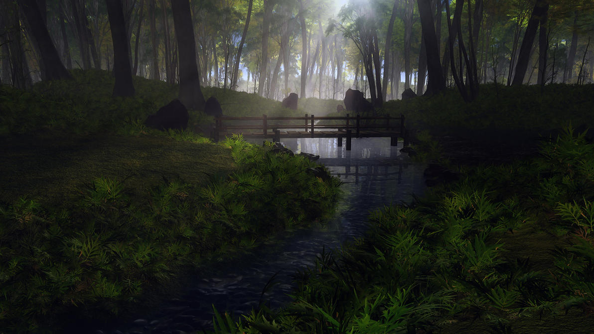 Gentle Stream by relhom