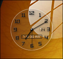 See through clock_gadget by relhom