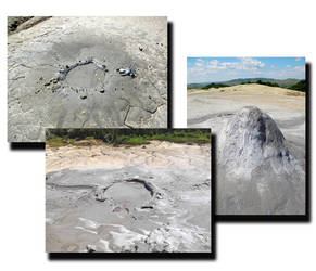 Muddy volcanoes pack 4 images by MihaelaJoeDesigns