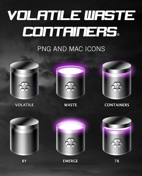 VOLATILE WASTE CONTAINERS by emerge78