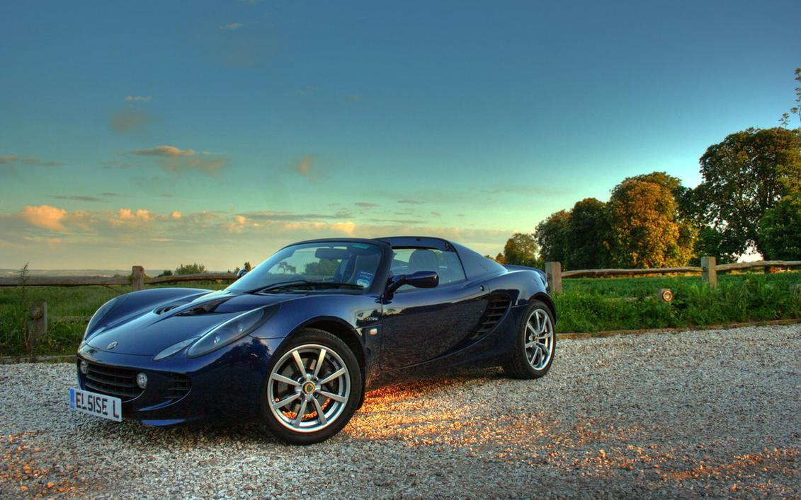 Lotus Elise 111R Wallpaper 1 by waterrat
