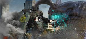 Jaeger vs. Kaiju