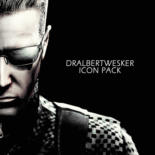 DrAlbertWesker Icon Pack by AlbertXExcellaLover
