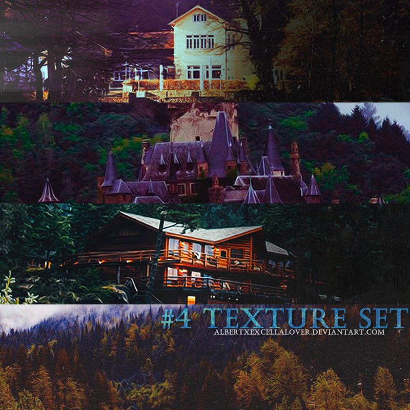 #4 Texture Set by AlbertXExcellaLover