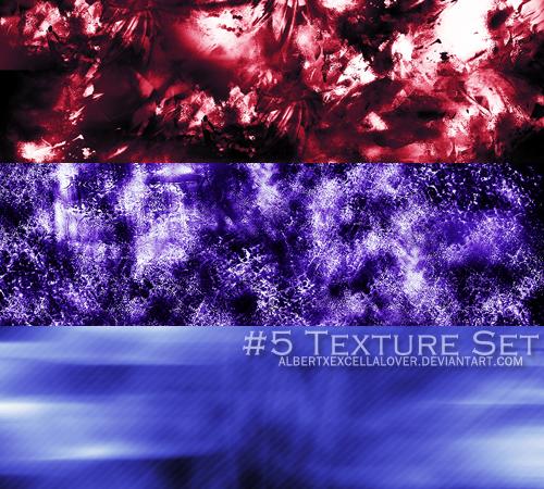 #5 Texture Set by AlbertXExcellaLover