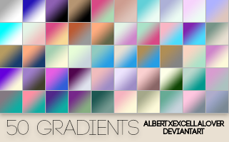 50 Gradients by ilsirya