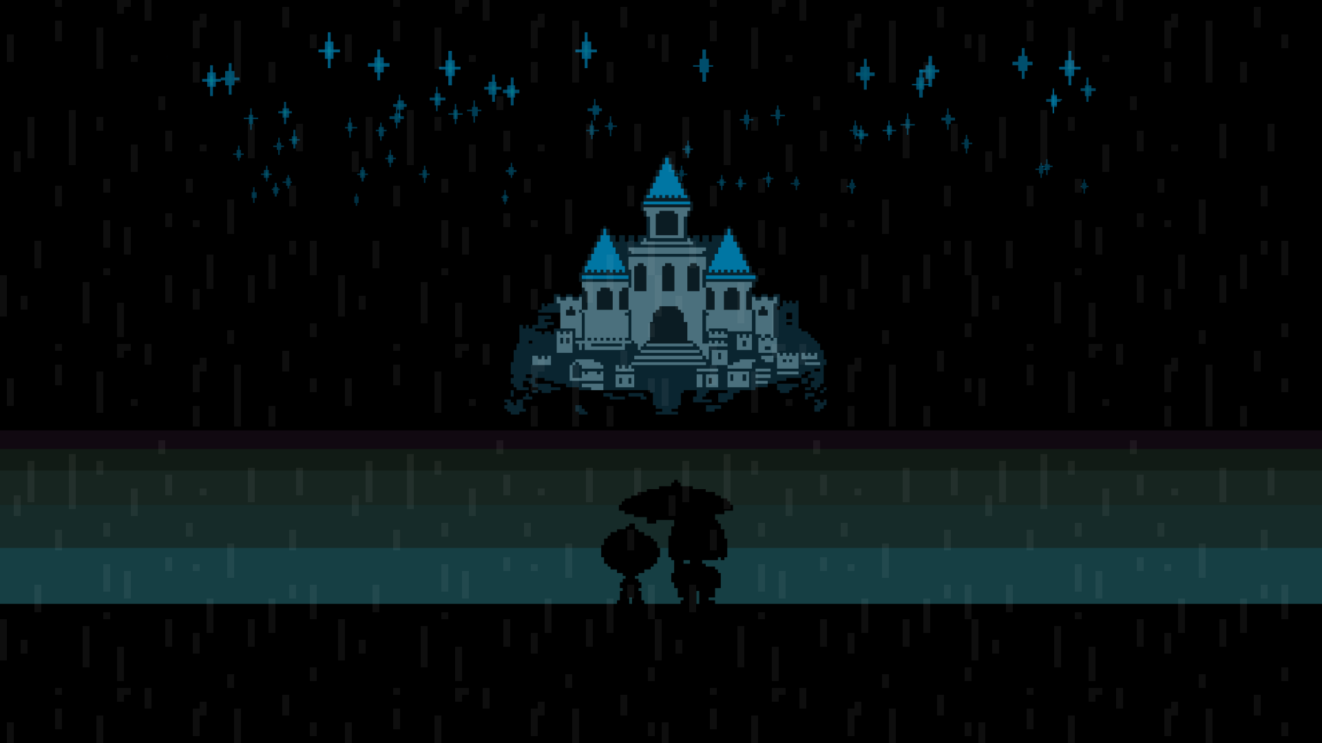 Animated undertale new home by techeve on deviantart for Wallpaper home animation