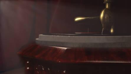 Final Render CG Antique Gramophone 04