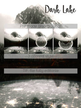 Premade Background -Dark Lake-