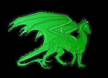 Free to use Pern Dragon template
