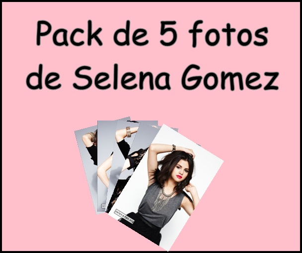 Selena Gomez Pack by EditionsFirulais25