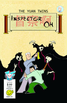 A Inspector Oh Issue 0 Front Cover