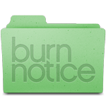 Burn Notice folder - leopard by vrinek502