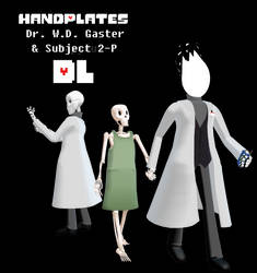 ~UT MMD: Handplates Pack DL~ by The-Irish-Gal