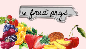 6 fruit pngs
