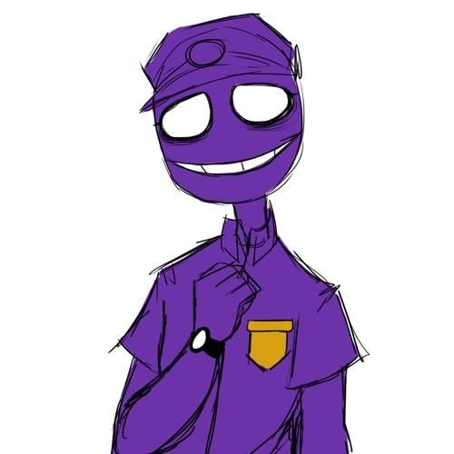 fnaf парень картинки фиолетовый