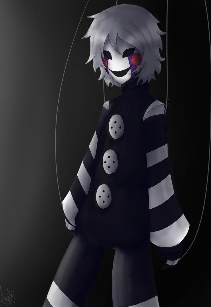 Neko Boy Black Hair Wolf