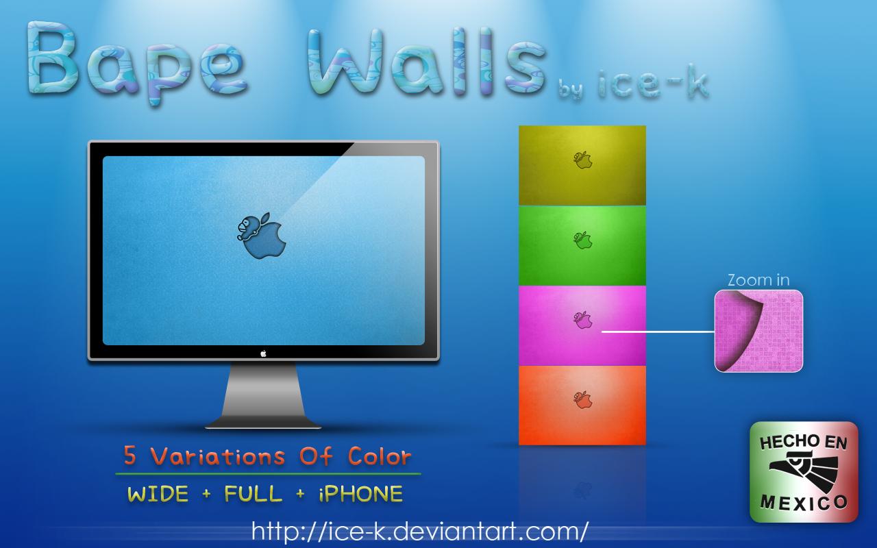 Bape wallpapers by ice k on deviantart - Bape wallpaper mac ...