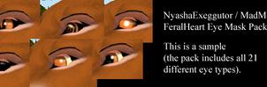Moai's FH Eye Masks by YuPuffin
