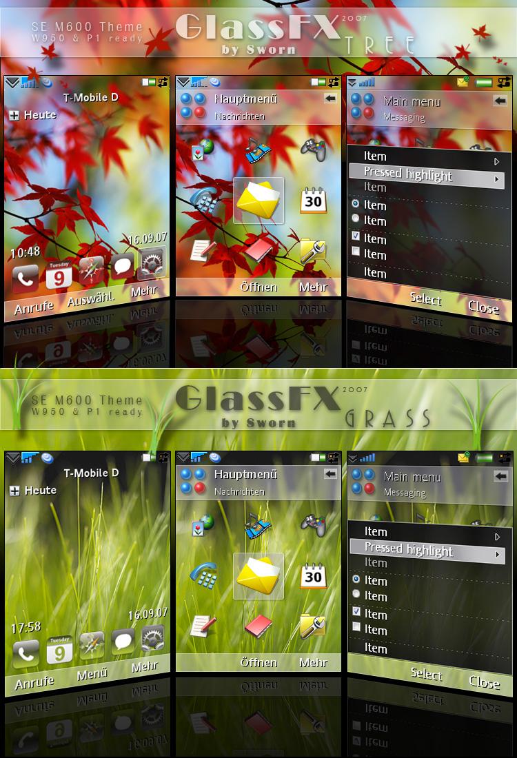 GlassFX Tree + GlassFX Grass