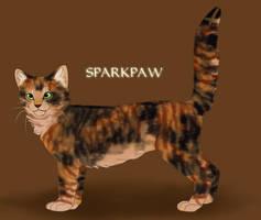Sparkpaw by Saakumi