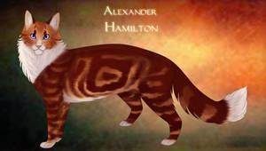 Kittyfied Hamilton   Alexander Hamilton Speedpaint by Saakumi