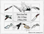Knives Icons Pack