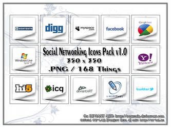 Social Networking Icons Pack v1.0
