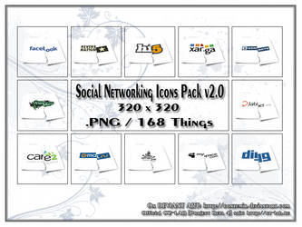 Social Networking Icons Pack v2.0
